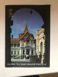 Vintage Guide to the Grand Palace Bangkok, Thailand Stamped Good Condition