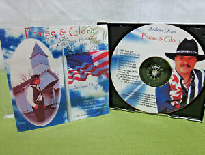 ANDREW DEAN Praise & Glory autograph Christian CD Ohio country Toledo 2002
