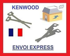 2 Cles Extraction Autoradio Kenwood avant 2002