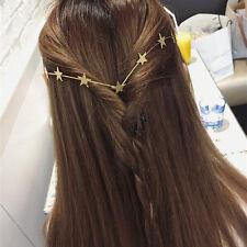 Boheme Femme Bijoux Cheveux Chaînes Multirang Serre Tête Bandeau Coiffure Soirée