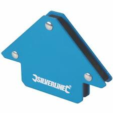 Silverline Welding Magnet, Unrestricted Hand Use & Accurate Work - 45, 90 & 135°