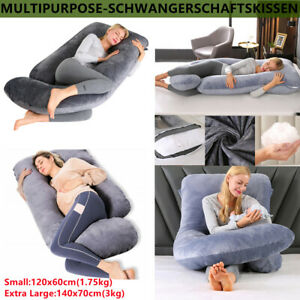 U/G-förmige Körperkissen Schwangerschaftskissen für Schwangere Stillen Kissen