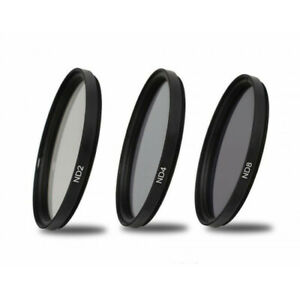 62mm ND2 (1 Stop) ND4 (2 Stop) ND8 (3 Stop) Neutral Density Filters UK Seller