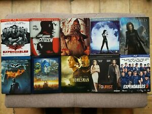 Lot de 10 Films Steelbook Blu-ray Vide (sans Blu-ray)