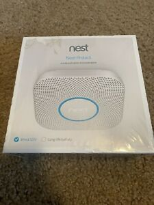 NEW SEALED- Nest Protect 2nd Gen S3003LWES Wired Carbon Monoxide Smoke Detector