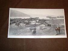 Rarissima veduta di Valona o Vlora nel 1913 Il porto Albania
