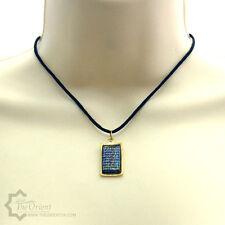 Ayat Al Kursi The Throne Verse Lace Black Pendant Necklace Islamic Jewellery