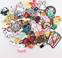 Random Patches 30pcs/lot Diy Girls Kids Iron On For Clothing Applique Sticker
