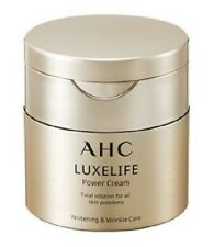 AHC LUXELIFE Power Cream 50ml Anti aging Wrinkle care Elastic Panthenol Collagen