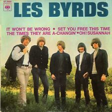 """THE BYRDS SET YOU FREE THIS TIME FRENCH ORIG EP 45 PS 7"""""""