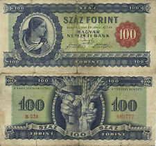 HUNGARY - 100 Forint  1946    P.160a