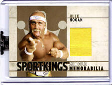 HULK HOGAN 2007 SPORTKINGS * 1 of 10 made* GOLD Edition EVENT WORN T-SHIRT (a)