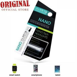 NANO Mobile Phone 9H Tech Liquid Screen Protector Invisible Glass Shield Tablet