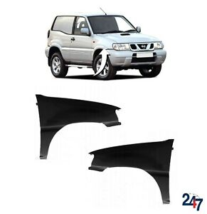 FIBREGLASS FRONT WING FENDER PAIR SET FOR NISSAN TERRANO II 99-02