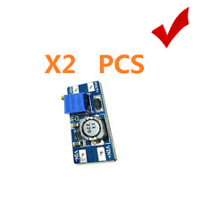 2pcs MT3608 DC 2A Step Up Power Module 2v-24v to 5v/9v/12v/28V Boost Converter