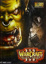 WarCraft III: Reign of Chaos Pc Cd Rom Complete