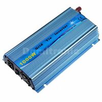 1000W Grid Tie Inverter Pure Sine Wave Inverter 110V or 220VAC Sky Blue Color CE