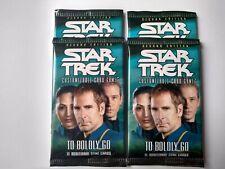 Star Trek ccg Four To Boldly Go TBG sealed booster packs