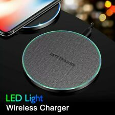 15W Fast Wireless Charger For iPhone 11 Pro For Samsung Note S20 USB Wireless UK