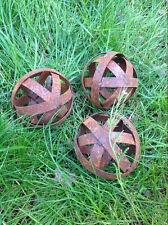 5st Edelrost,Gartenkugel rost Dekokugel,Metall,Garten Kugel 15cm Rost,Kugeldeko
