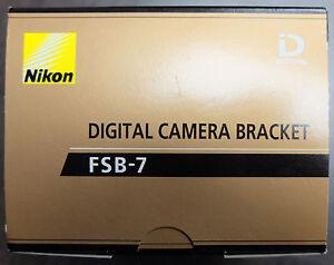 Nikon FSB7 Digital Camera Bracket - NEW!