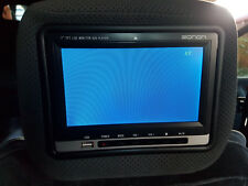 "7"" Headrest Monitor built-in DVD Player USB SD Holden Statesman Ford universal"