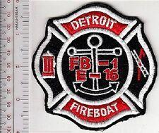 Fire Boat Michigan Detroit Fire Department Curtis J Randolph Fireboat 1 Marine