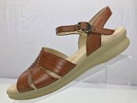 SAS Huarache Tripad Comfort FootBed Ankle Sandals - USA Women's 10 S Antique Tan
