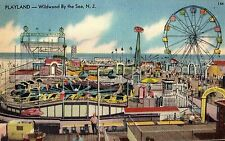 Playland Rides at Wildwood by the Sea NJ OLD