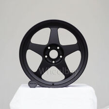 4 ROTA WHEEL SLIPSTREAM  18X9.5  5X114.3 38 73  FLAT BLACK LAST SET