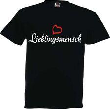 Lieblingsmensch T Shirt Fun Geschenk Valentinstag Geburtstag Herz Liebe Love
