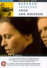 Schreie und Flüstern DVD Harriet Andersson Liv Ullmann UK Version Neu Versiegelt R2