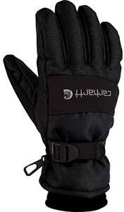 Carhartt Men's Winter Waterproof Insulated Work Gloves Black Brown S M L XL XXL