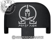 Rear Slide Plate for Smith Wesson S&W SD9 SD40 VE 9mm 40 BK Molon Labe 2