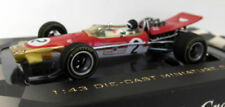 Modellini statici di auto da corsa rossa Lotus