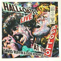 HALL & OATES & DAVID RUFFIN / EDDIE KENDRICK 1985 Live At The Apollo VG+/VG+