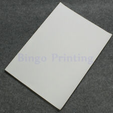 50 X Waterproof Polymer Paper Synthetic Paper Blank Sticker For Laser Printer