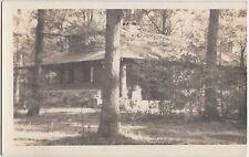 Ohio Real Photo RPPC Postcard 1940 GALLAWAY Columbus Camp KEN JOCKETY