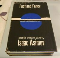 Fact and Fancy by Isaac Asimov 1962 Hardcover 1st Edition