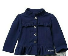 Tommy Hilfiger Fleece Jacket (Baby Girls)-SZ 4T-NWT