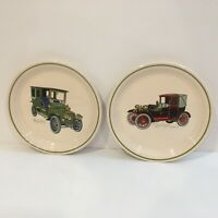 Brendan Erin Stone Lot Of 2 Antique Cars Made In Arklow Ireland