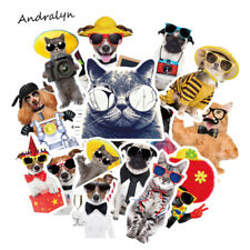 38PCS CAT AND DOG STICKERS USA SELLER