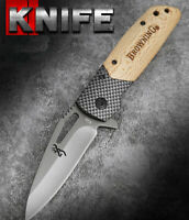Nice New Sharp Knife Liner Lock Folding Saber Survival Hiking Outdoor Tool