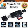 Super Speed 2 in 1 USB 3.0 lettore schede di memoria flash ADATTATORE MICRO SD