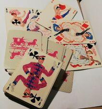 jeu de 62 cartes (60 + 2 publicitaires) CANCAN  Philibert Albaran Moulin Rouge