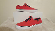 DVS MENS FANTOM RED SHOES TRAINERS UK SIZE 8 NEW UNBOXED SKATEBOARDING