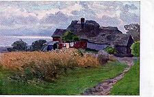 Original Postcard Series 2351 Muller Kurzwelly 'Bauernhof Am Meeresstrand'
