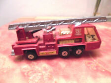 MATCHBOX SUPER KINGS K9 FIRE TENDER LESNEY 1972 MADE IN ENGLAND