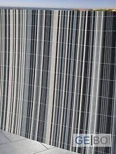 PVC Balkonblende Sichtschutz 0,9 x 3 m Balkon Sichtschutz Balkonverkleidung