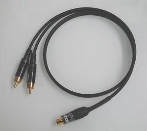 2 Cinch Adapter RCA Cinch female vergoldet RCA Adapter Cinch Kupplungen gold 2St